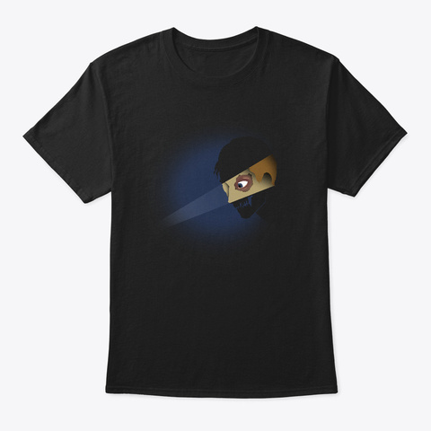 The Eyes Black T-Shirt Front