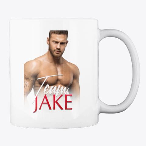 Team Jake Mug White T-Shirt Back