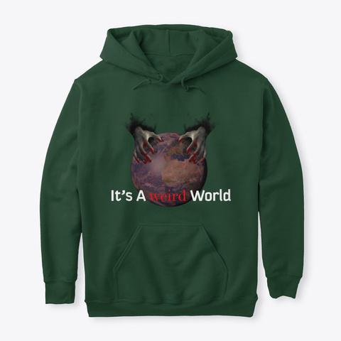 Weird World Merchandise Forest Green T-Shirt Front