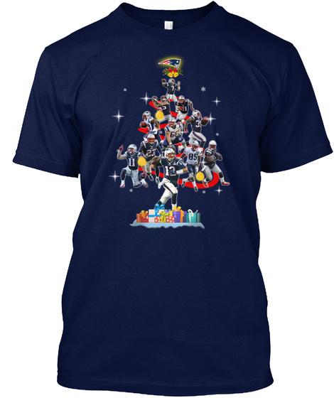 Boston Baseball Navy T-Shirt Front