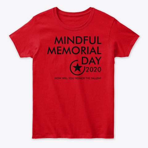 Mmd 2020 Red Chakra T Shirt Red T-Shirt Front
