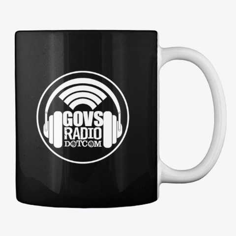 Jam   Govs Radio Black T-Shirt Back