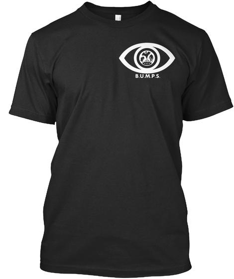 B.U.M.P.S Black T-Shirt Front