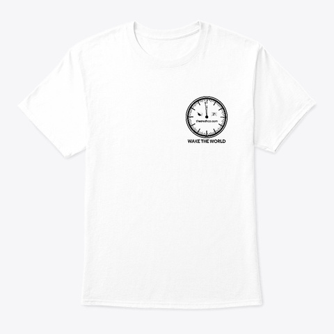 Thetruthco.Com White T-Shirt Front