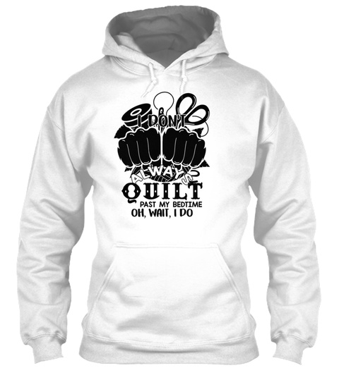 Quilter Shirt White T-Shirt Front