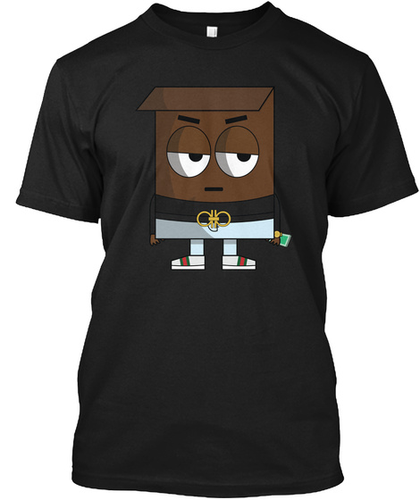 Coko Krisp Black T-Shirt Front