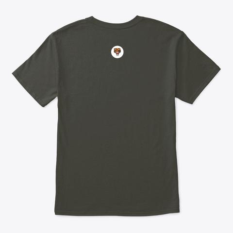 74(F) `tiger` Squadron T Shirt Smoke Gray T-Shirt Back