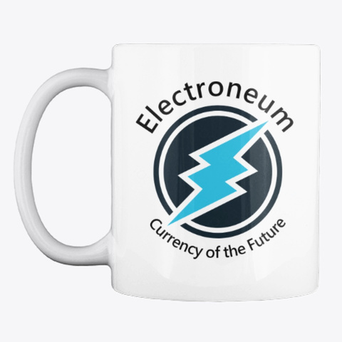 Etn   Currency Of The Future Mug White T-Shirt Front