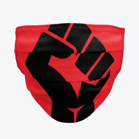#Blm Power Red T-Shirt Front