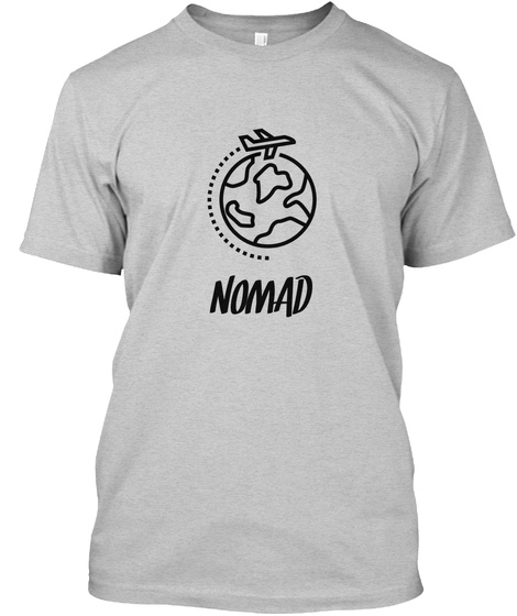 Nomad Light Steel T-Shirt Front