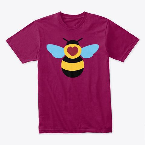 Bumblebee In Love Cardinal T-Shirt Front