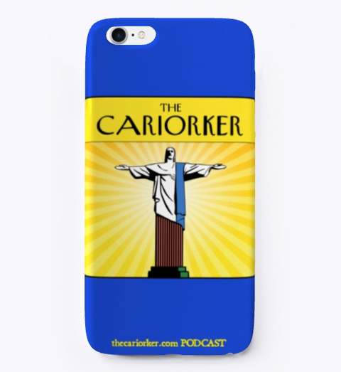 Carry Cariorker Royal Blue T-Shirt Front