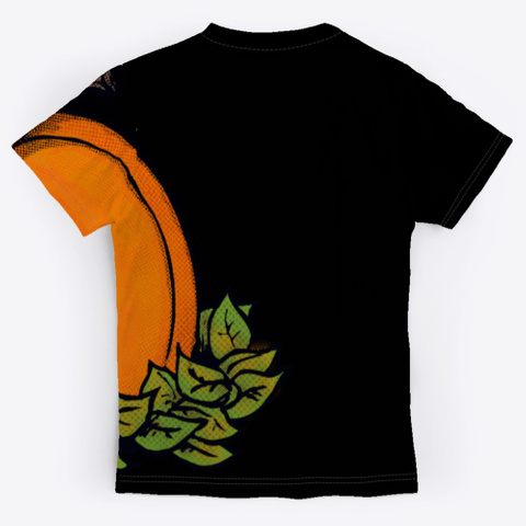 Jack Con Lantern Allover Tee Black T-Shirt Back