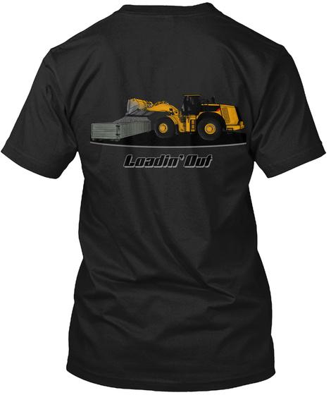 Loedin Out Black T-Shirt Back