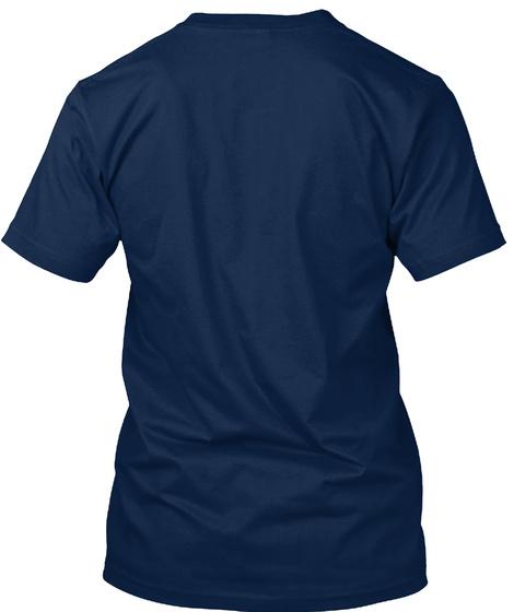Beltsander Apparel  Navy T-Shirt Back