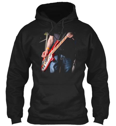 Rickenbacker Bass 85 Black T-Shirt Front