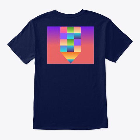 Safa T Shirt Navy T-Shirt Back