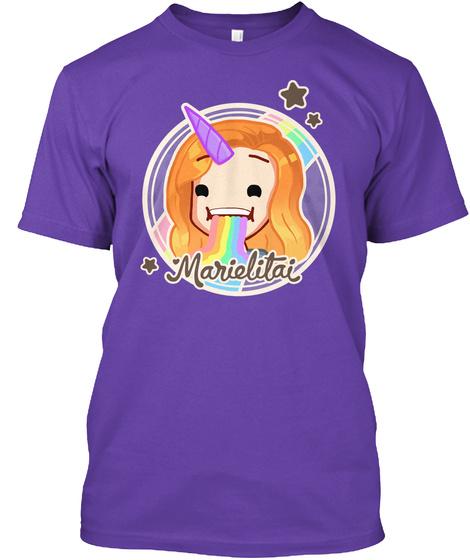 Marielitai Purple Rush T-Shirt Front