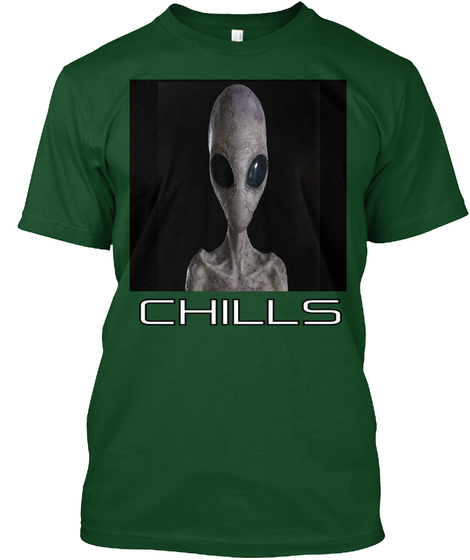 Chills Deep Forest T-Shirt Front