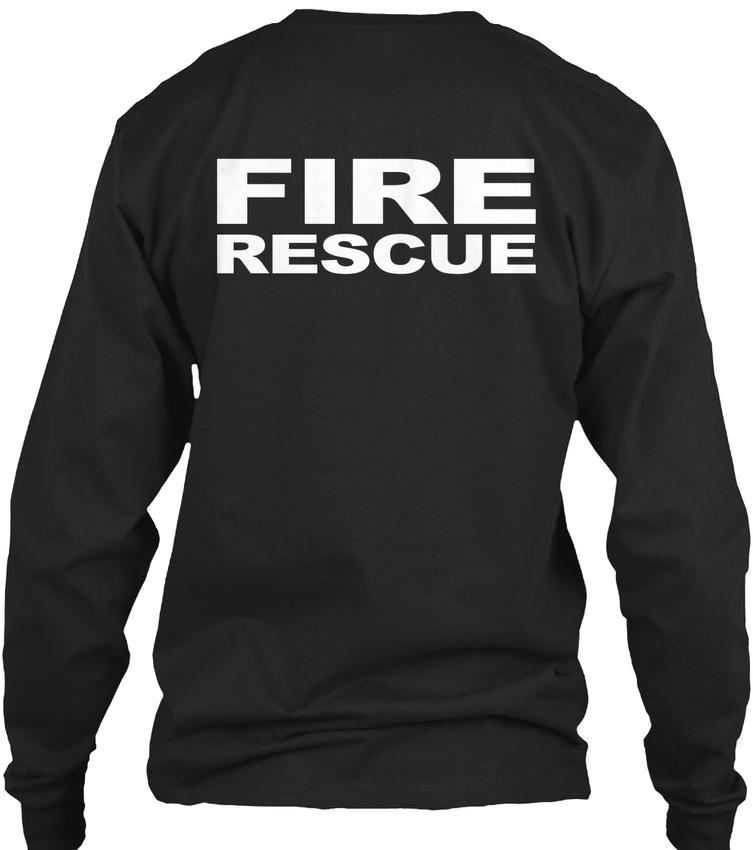 Fire-Rescue-S-F-D-Gildan-Long-Sleeve-Tee-T-Shirt thumbnail 6
