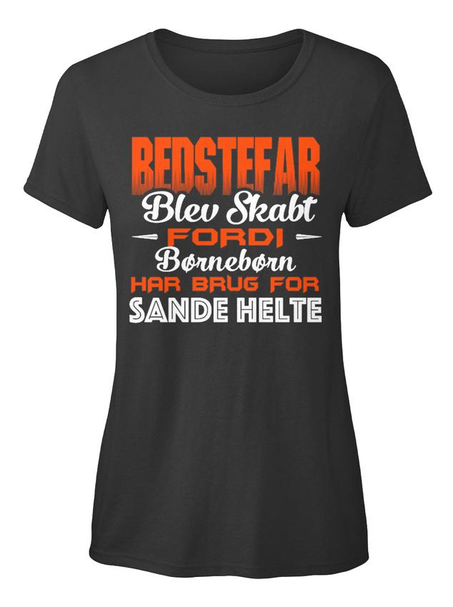 Bedstefar-Blev-Skabt-Fordi-Borneborn-Hat-Har-Brug-T-shirt-Elegant-pour-Femme