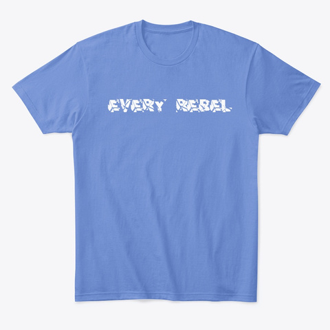 End The Stigma Heathered Royal  T-Shirt Front
