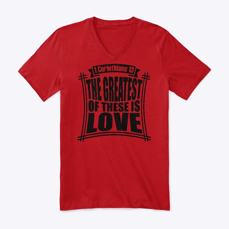 1 Corinthians 13 Unisex Tshirt