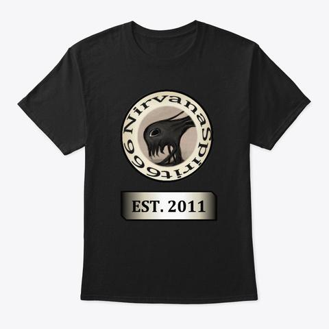 Est. 2011  Black T-Shirt Front