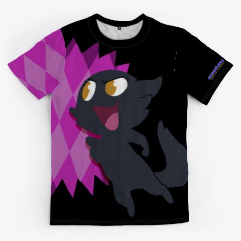Team Petita! Black Camiseta Front