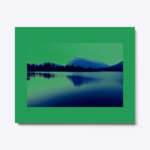 Lake Graphic Green T-Shirt Front