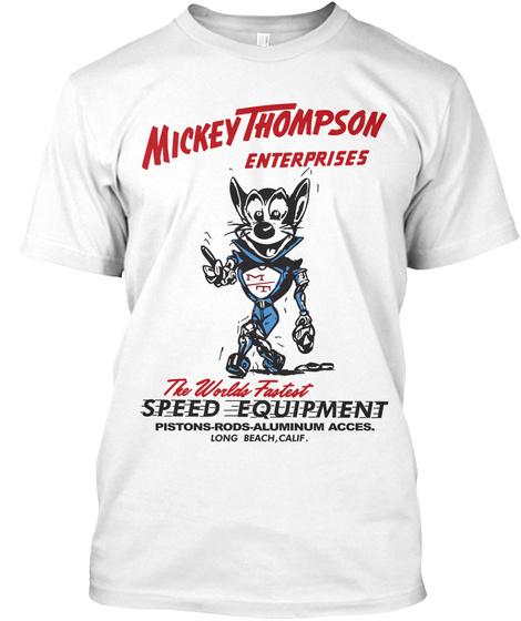 Mickey Thompson Mouse Shirt Unisex Tshirt