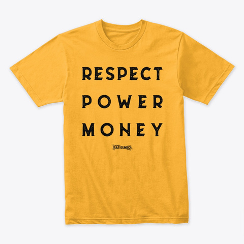 Rpm Gold T-Shirt Front