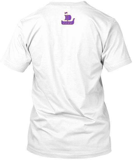 Skol Mn White T-Shirt Back