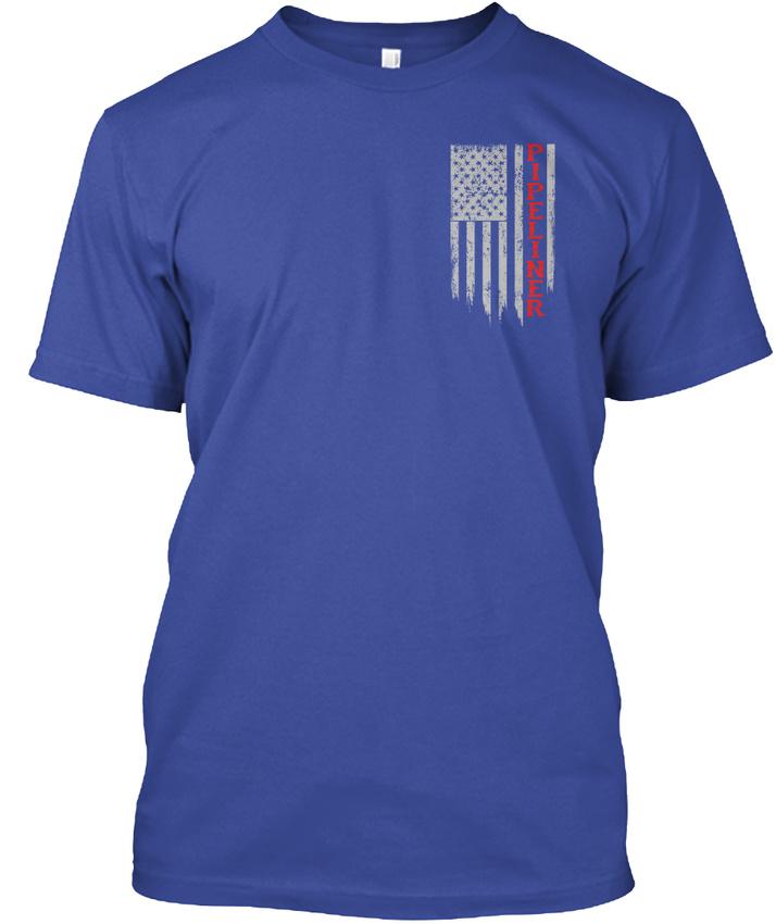 Pipeliner-Us-Flag-Hanes-Tagless-Tee-T-Shirt thumbnail 10