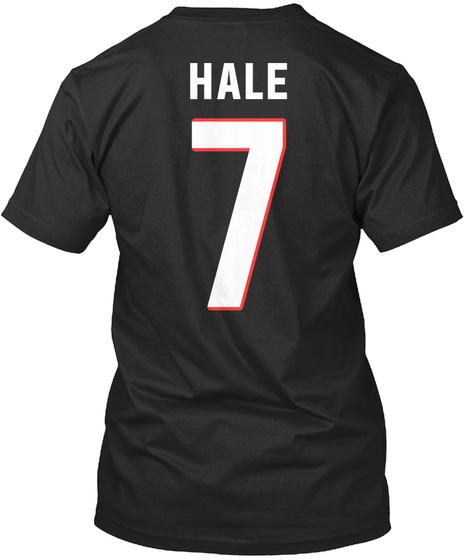 Hale 7 Black T-Shirt Back