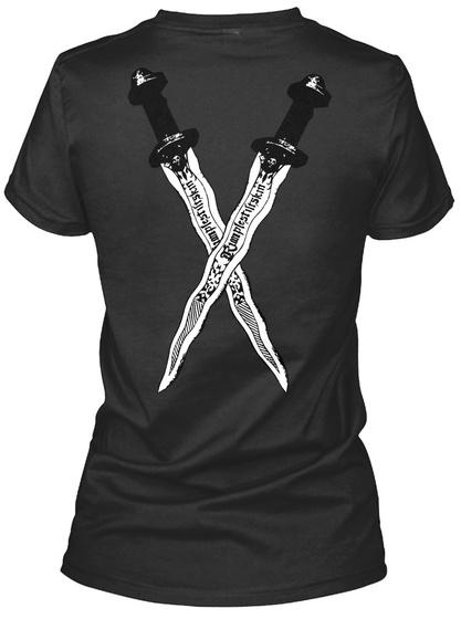 Dearie! Black Women's T-Shirt Back