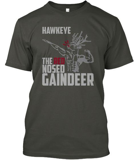 Hawkeye Gaindeer Smoke Gray T-Shirt Front