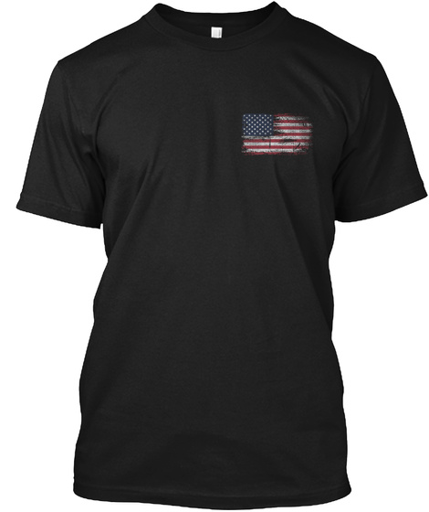 Independence Day Black áo T-Shirt Front