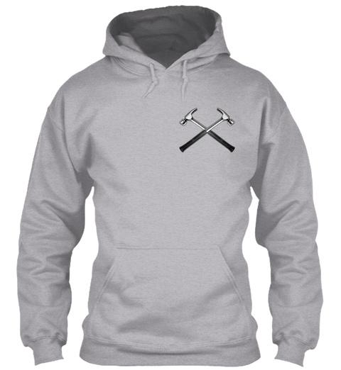 Sarcastic Carpenter Sport Grey T-Shirt Front