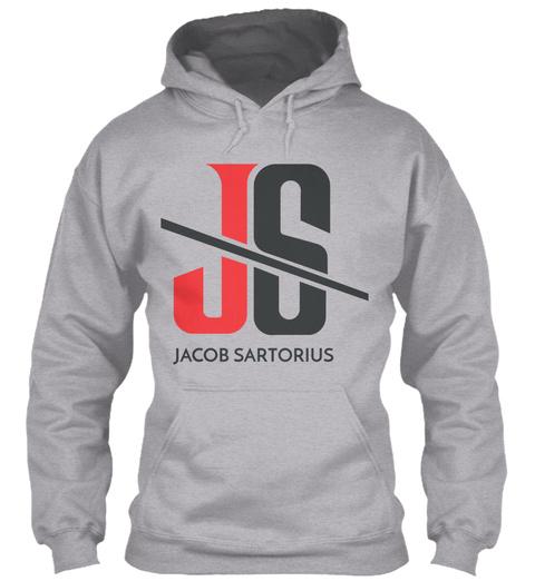Js Jacob Sartorius Sport Grey T-Shirt Front