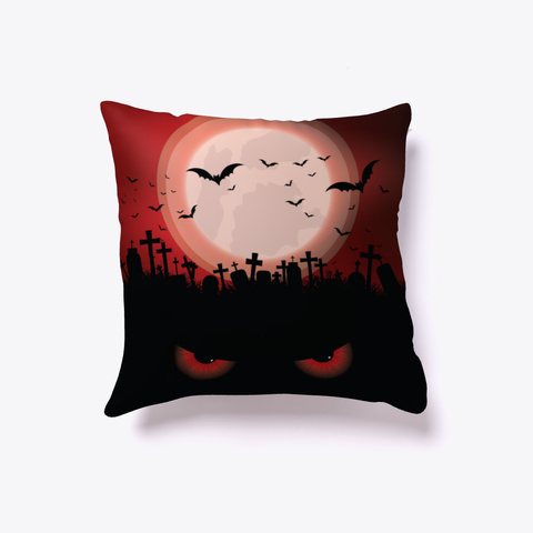 Halloween Pillow Black T-Shirt Front