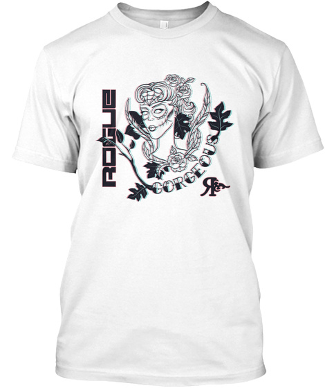 Rogue Gorgeous White T-Shirt Front