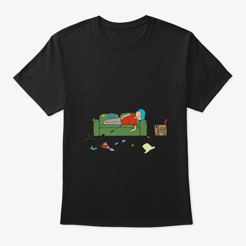 Catalina Sleepin' Black T-Shirt Front
