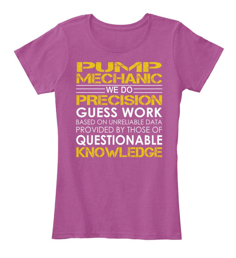 Pump Mechanic - Precision Hoodie Tshirt