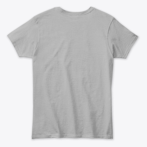 Roller Skater Sport Grey T-Shirt Back