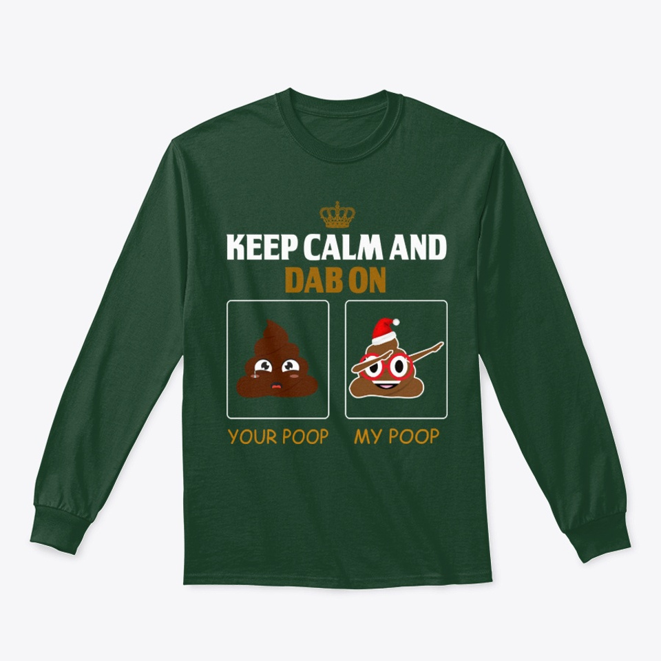 Avocado Dabbing Infant Kids Crewneck Long Sleeve Shirt T-Shirt for Toddlers