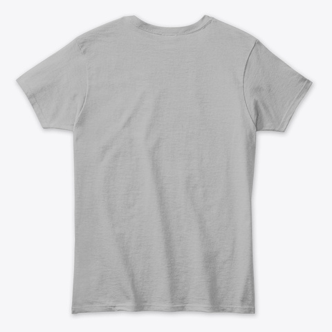 Epik Life Palm Tree Tee Sport Grey T-Shirt Back
