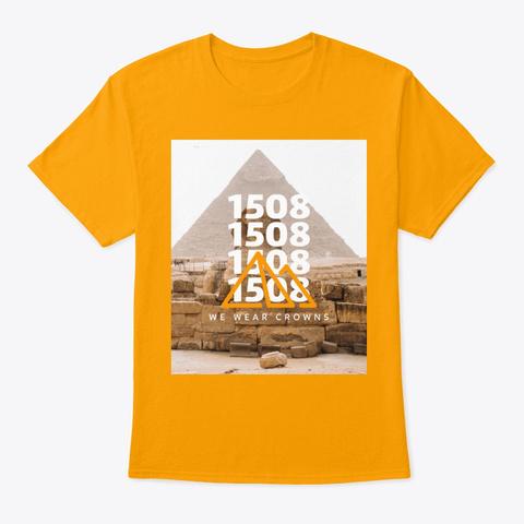 Pyramids Gold T-Shirt Front