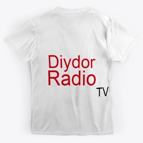 Diydor Radio Tv (T Shirt) Panda Standard T-Shirt Back
