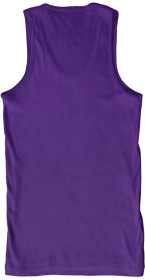 Be A Good Dog Farmer! Purple T-Shirt Back
